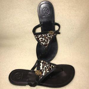 Tory Burch Women's Sandals Leopard Print